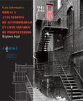 Portada del libro: Obras y Actuaciones de Accesibilidad en Comunidades de Propietarios, sobre Convención Internacional de Derechos