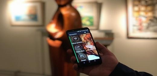Foto del Proyecto Amuse instalado en un móvil