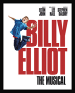 Cartel del musical Billy Elliot. El musical.