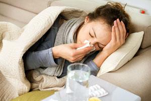 Una persona convaleciente con Gripe A