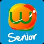 Logotipo del producto de apoyo de Wappa Senior
