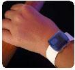 Producto de apoyo del brazalete localizador GPS de personas con Alzheimer