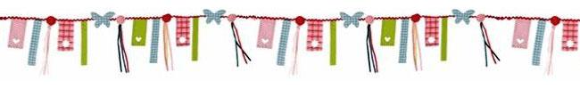 Guirnalda decorativa de juguetes accesibles