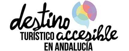 Logotipo de Destino Turístico Accesible en Andalucía