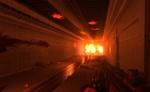 Guía de videojuegos accesibles - Dicapacidad Auditiva: Habitación estrecha, En la pared del fondo hay una luz naranja.