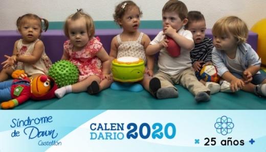 niños calendarios de Down Castellon