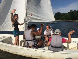 campamentos inclusivos y su actividad de vela