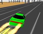 Guía de videojuegos accesibles - Dicapacidad Física: Coche corriendo por una carretera.