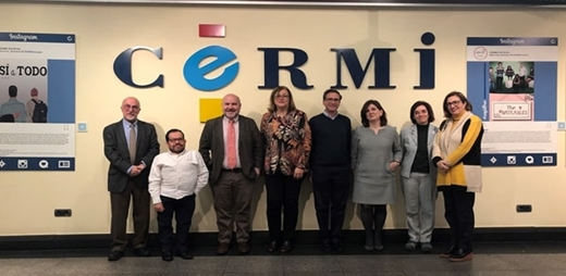 CERMI y CEDU posando por la firma de su convenio en favor de la inclusión del alumnado
