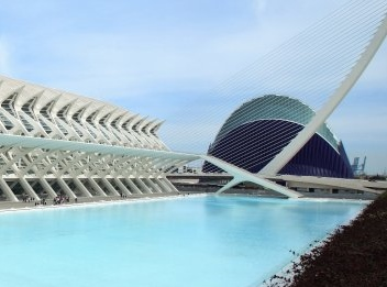 Ciudad de las Artes y las Ciencias de Valencia, imagen Visit Valencia