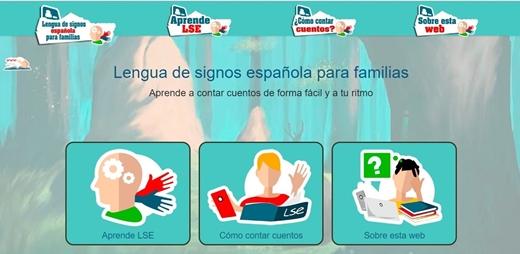Banner de los cuentos en lengua de signos de la CNSE
