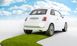 coche sobre hierba transporte accesible