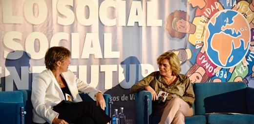 Fotografía de CERMI en la convención el futuro de lo social