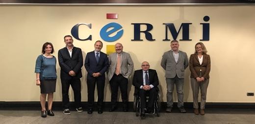 Firma del convenio de accesibilidad en el ámbito portuario estatal entre CERMI y el presidente de Puertos del Estado