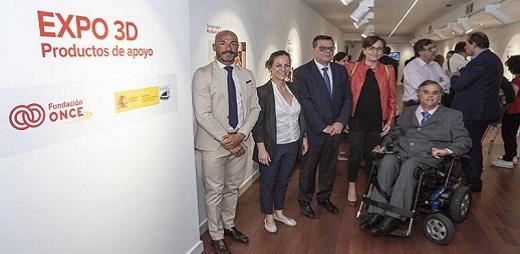 Foto familia de la presentación de la EXPO 3D Productos de apoyo