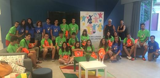 Imagen de los participantes en los Campus Inclusivos de la Universidad de Málaga