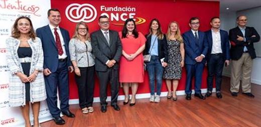 Fundación ONCE junto a la Delegación del dobierno de Rumanía