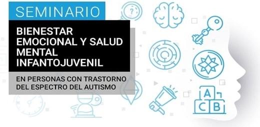 Banner deI Seminario sobre Bienestar emocional y salud mental infantojuvenil en el TEA