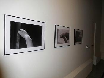 serie de fotos en blanco y negro pies