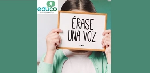 """Banner del Informe """"Érase una voz…"""""""