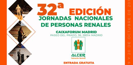 Cartel 32º Jornadas Nacionales de Personas Renales