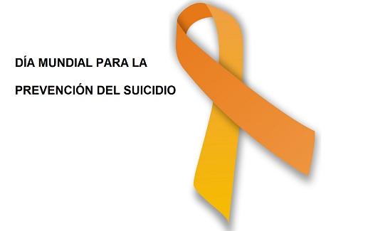 lazo naranja día mundial para la prevención del suicidio