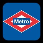 Logo Metro de Madrid de la guía de transporte urbano