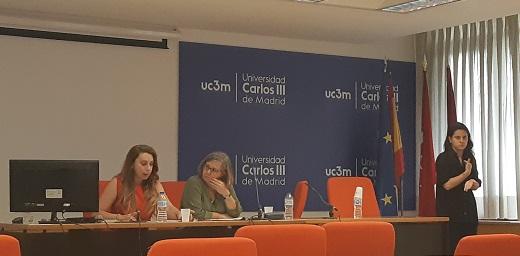 profesoras ponentes en el Congreso Madrid Sin Barreras