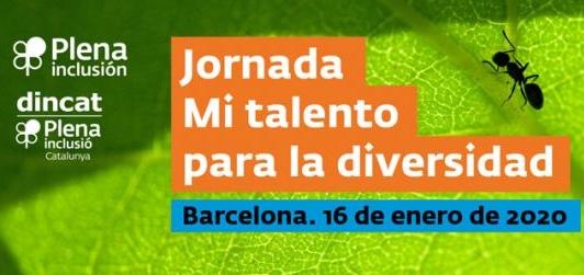 cartel de la jornada mi talento para la diversidad