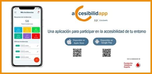 Imagen de AccesibilidApp, la aplicación para participar en la accesibilidad del entorno