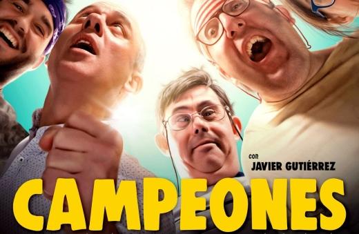"""Cartel película """"Campeones"""""""
