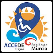 Logotipo de la APP ACCEDE palyas Región de Murcia