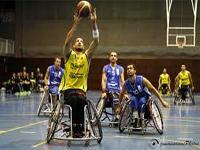 Un partido de baloncesto en silla de ruedas