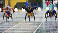 Deporte Paralímpico. Atletismo en silla de ruedas