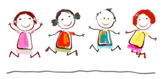 Juegos didácticos dibujos de niños y niñas
