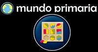 Juegos educativos Logotipo de Mundo primaria y un juego de piezas