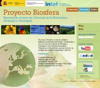 Juegos educativos, detalle del juego sobre el Proyecto Biosfera