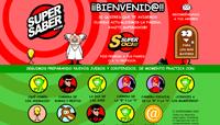 Juegos educativos, detalle del juego de Super Saber