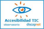 Logotipo del Observatorio de la Accesibilidad de Discapnet