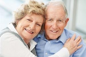 Salud- y Mayores. Dos personas mayores