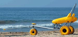 Silla anfibi, guia de playas accesibles