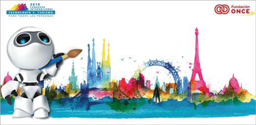 Cartel para la presentación del Congreso de Tecnología y Turismo para la diversidad