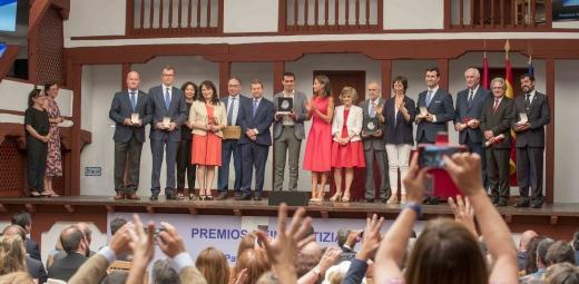 momento de la entrega de Premios Reina Letizia