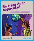 Portada del libro: Se trata de la Discapacidad, sobre Convención Internacional de Derechos