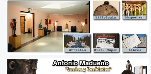 web del museo tiflológico donde tendrá lugar al tactile tour