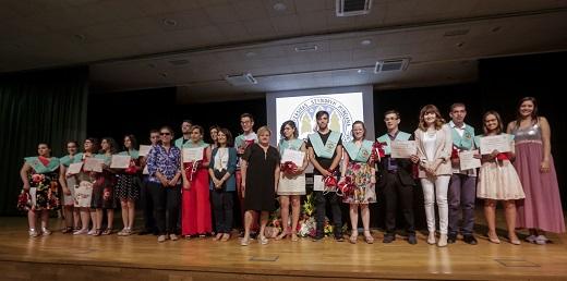 estudiantes graduados en Universidad de Murcia el curso pasado